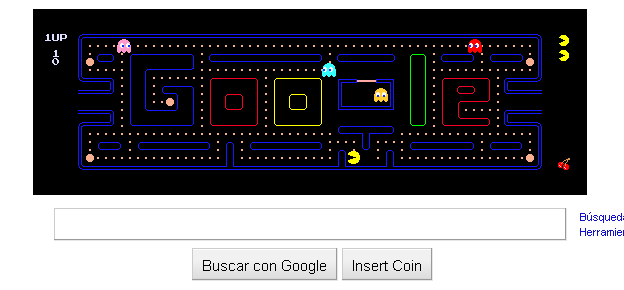 Thumb Google celebrates PAC-MAN 30th Anniversary