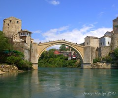 "Stari Most (Old Bridge)  Mostar, Bosnia and Herzegovina (Joalhi ""Around the World"") Tags: mostar bosnia herzegovina starimost oldbridge"