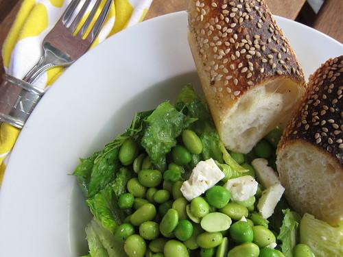 Pea and Edamame Salad