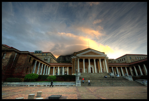 Mysterious light over UCT2