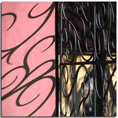 Black curls (Nespyxel) Tags: light shadow black muro wall design gate prague ombra praga grill curl nero luce disegno cancello grafism grafismo ricciolo grata challengeyouwinner nespyxel stefanoscarselli pleasedontusethisimageonwebsites blogsorothermediawithoutmyexplicitpermissionallrightsreserved