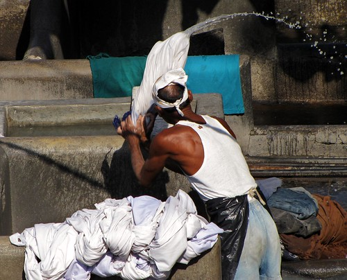 Dhobi Ghat (Open Air Laundry)- v4