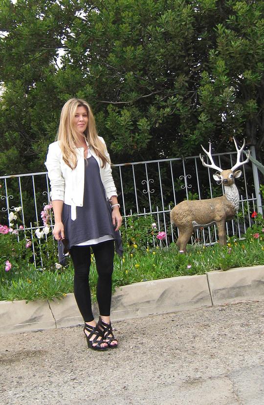 lawn deer in Los Angeles hills+2