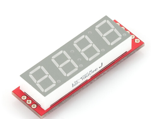 SparkFun Electronics - 7-Segment Serial Display