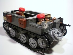Bren Gun Carrier/Universal Carrier v2 (PhiMa') Tags: lego wwii ww2 british commonwealth worldwar2 brengun trooptransport