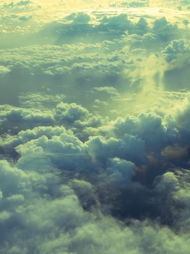 わた雲 ほわほわ。