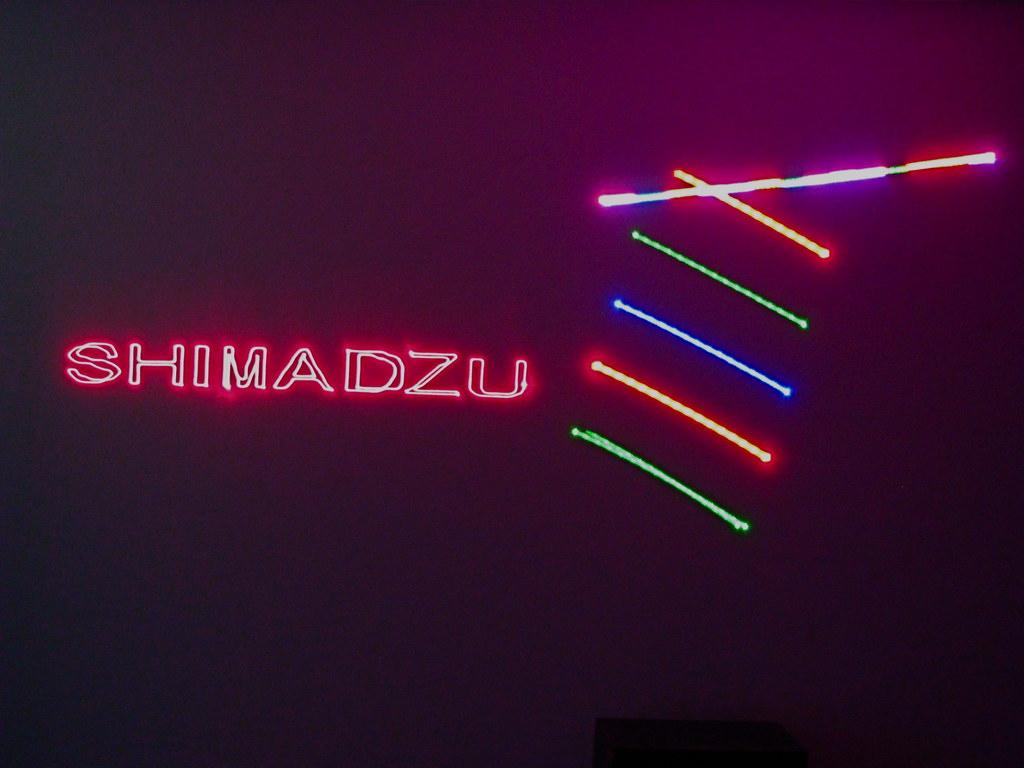 2010 TE Productions Worldwide - Shimadzu Laser Logo Animation - logo2