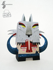 Paper Totem! x Dan Matutina (Dolly Oblong) Tags: paper designer totem custom dolly collect dollies customs designertoy twistedfork freedownload papertoy danmatutina dollyoblong papertotem