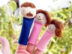titeres dedos - familia - disponibles