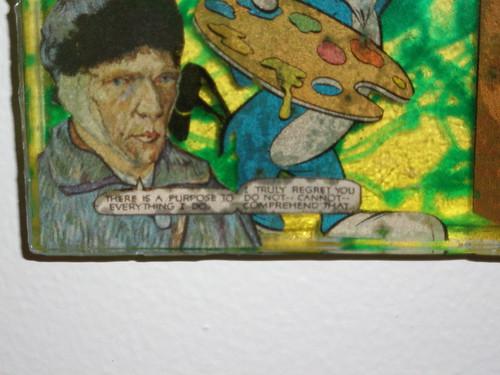 Van Gogh's Apprentice detail