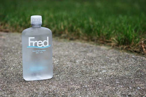 FRED water.