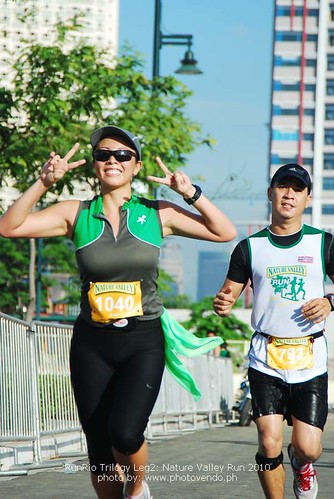 Nature Valley Run: Kikay for the Camera