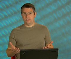 screen grab of Matt Cutts on YouTube