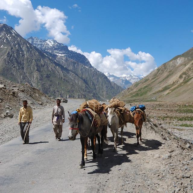 Road Manali - Leh, India