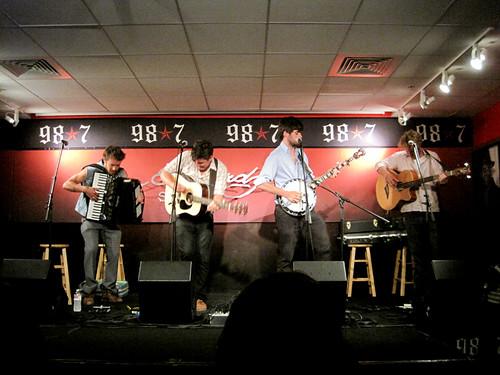 Mumford & Sons @ Star 98.7 in studio Performance (6-3-10)