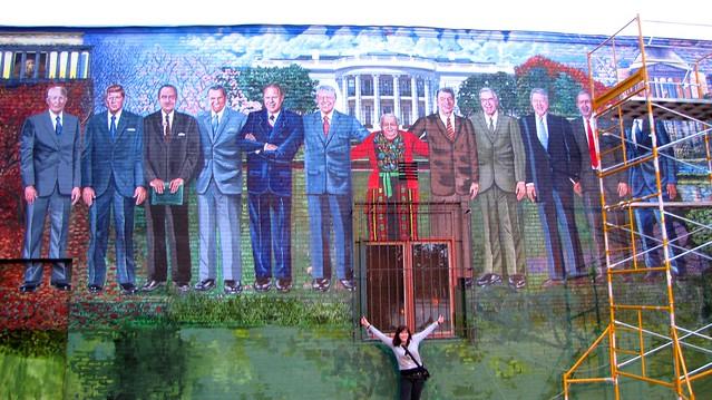 Mama Ayesha with Presidents