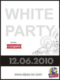 White Party Cusqueña - Pez On