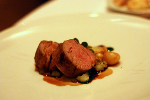 roasted tenderloin of veal