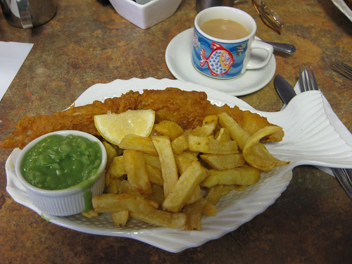 Fish and Chips at Inghams Fish Restauran by thefoodplace.co.uk, on Flickr