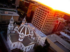 San Jose From Above (anthony_goto) Tags: city building church saint club canon joseph downtown cathedral basilica capital sanjose valley knight silicon g11 ridder