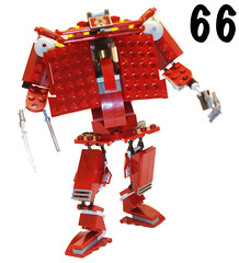 Mech 66 (The One And Only Mr.R) Tags: red white black me crimson dark one robot lego mr awesome gray ligt r only katana mecha mech awesomeness moc theoneandonlymrr