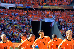 World Cup 2010 South Africa: Netherlands v Denmark (toksuede) Tags: world orange holland cup sports netherlands dutch amsterdam sport del copenhagen denmark foot football nikon fussball soccer du weltmeisterschaft danish di deporte dane monde futbol coupe mundo copa futebol d3 oranje 2010 calcio