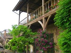 Maison fleurie au hameau