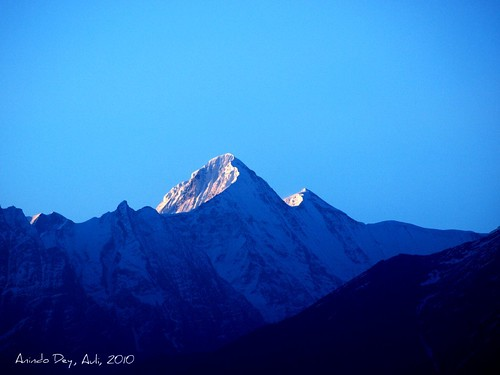 Mt. Trishul (23,360 Ft; 7,120m) or Mt. Bethartoli?