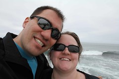 Me and Kari at La Jolla (drothamel) Tags: california la jolla