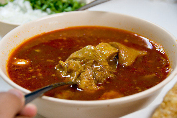 Tripe Stew at Don Pedro Carnitas