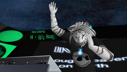 DJVoyager Xue at Dance Island
