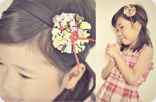 DIY Funky Hairband