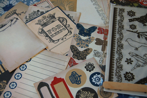 Scrapbook thingies (Photo by iHanna - Hanna Andersson)