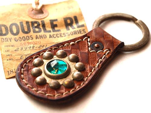 RRL / Studded Key Fob
