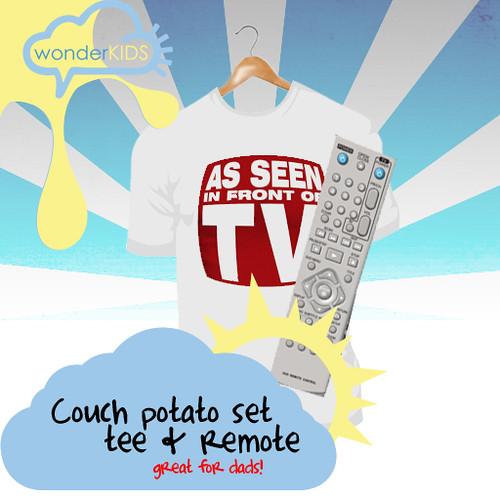 <(wonderkids)! couch potato set