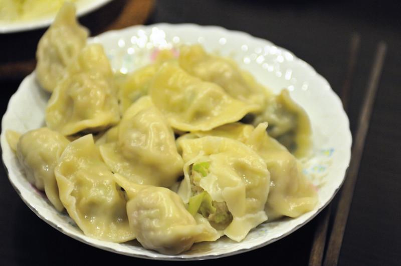 高麗菜韭菜水餃