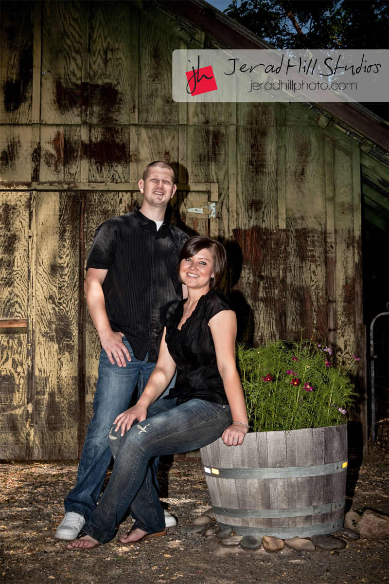 Knights Ferry Engagement Session - Brian and Aly