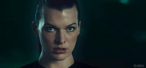 100620(3) - 預定9/10全球首映的3-D立體電影《惡靈古堡 4:陰陽界》公開正式版預告片! (1/5)