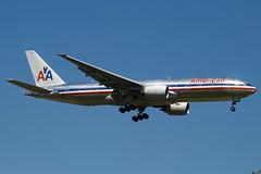 N795AN - 30257 - American Airlines - Boeing 777-223ER - 100617 - Heathrow - Steven Gray - IMG_4352