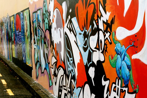 Saturday: Graffiti in the Hutt