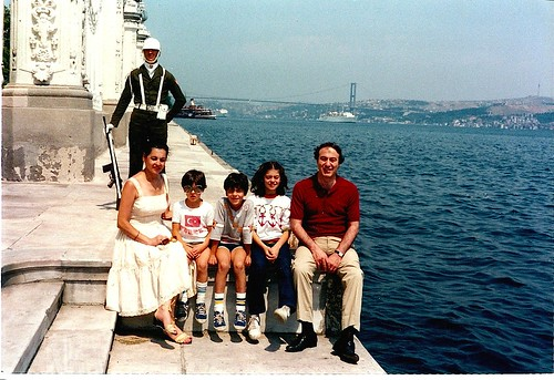 My family in 1984 visiting Istanbul