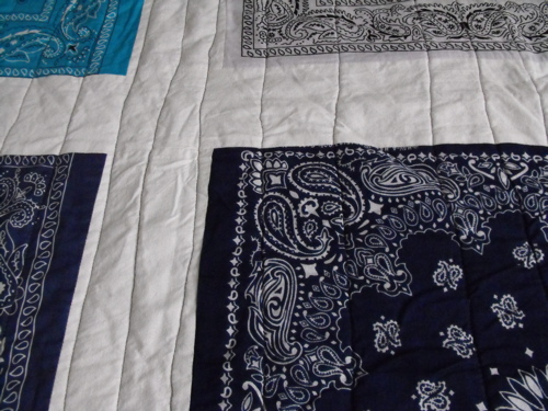 Bandana Quilt Close up