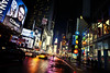 Times Square , New York City (RLJ Photography NYC) Tags: newyorkcity night lights mms colorful manhattan taxi broadway timessquare 42ndstreet conan newyorkcityatnight digitalcameraclub flickrchallengewinner thepinnaclehof kanchenjungachallengewinner thepinnacleblog tphofweek68