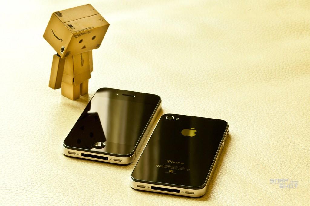 [楞言楞語]阿楞 + iPhone4