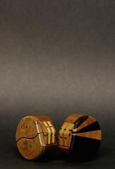 wooden boxes - Richard Windley (vernon.hyde) Tags: woodworking woodcraft treen woodenbox richardwindley