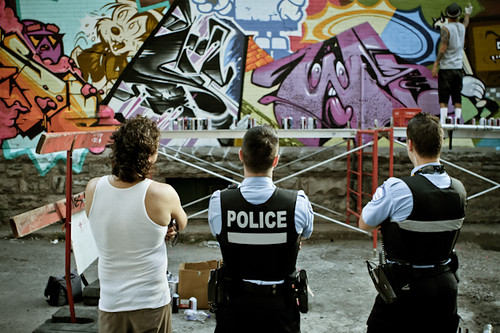 BANDIT-1$M | The police strikes a POSE. / Ironlak