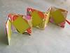 Origami Accordion Card Spring Garden