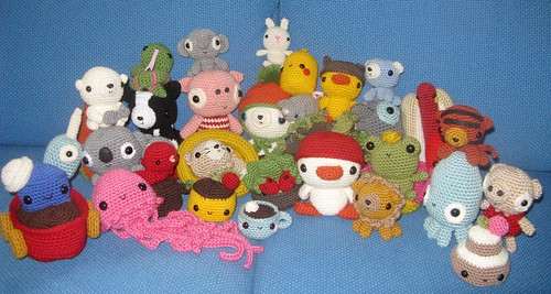 Amigurumi Toy Box: Cute Crocheted Toys