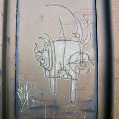 OTHER (TRUE 2 DEATH) Tags: street railroad streetart art train graffiti other streak tag graf trains railcar boxcar railways hobo railfan freight freighttrain rollingstock bsm moniker hobotag hobomoniker benching freighttraingraffiti