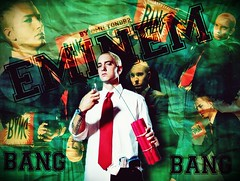 Blend Of Eminem (Miltondb3) Tags: blue music white green alone superman eua musica hiphop rap bomb bang rapper eminem vicio exploso notafraid twitter miltondb2